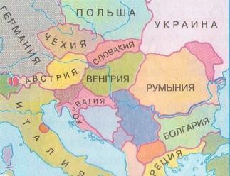 вопрос теста Государственная граница между Болгарией и Румынией