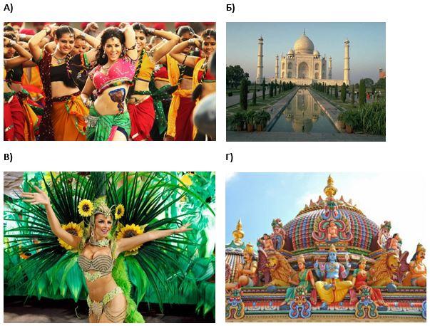 вопрос теста Индийская культура