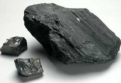 вопрос теста Каменный уголь