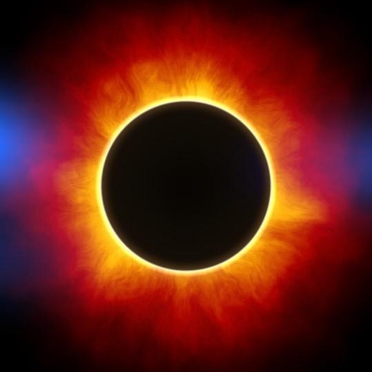 вопрос теста Часть солнечной атмосферы, видимой при затмении Солнца