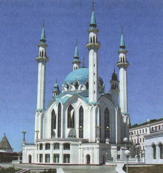 вопрос теста Мечеть Кул Шариф
