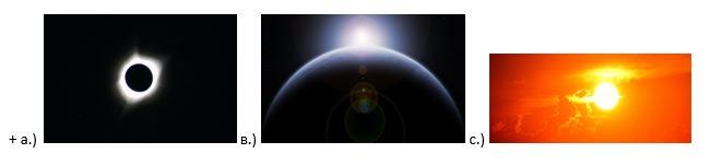 вопрос теста Солнечная корона