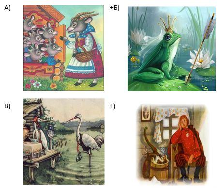 вопрос теста Какая сказка относится к волшебным