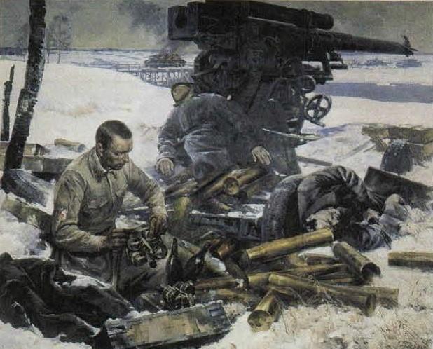 вопрос теста Великая Отечественная война